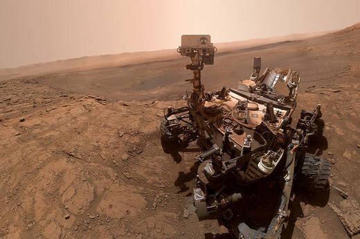 پرده برداری از یک معمای مریخی دیگر