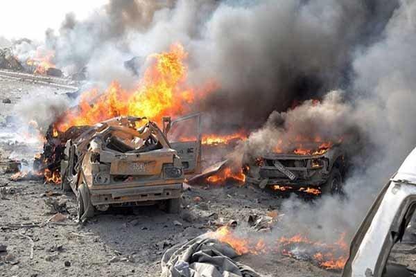 انفجار خودرو بمبگذاری در شهر اعزاز در سوریه، 8 نفر کشته شدند