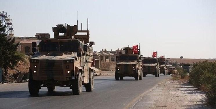 نظامیان ترکیه پس از عقب نشینی از 4 روستا در حسکه سوریه، مقرهای خود را آتش زدند