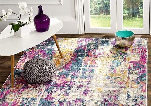 انتخاب رنگ فرش برای پذیرایی