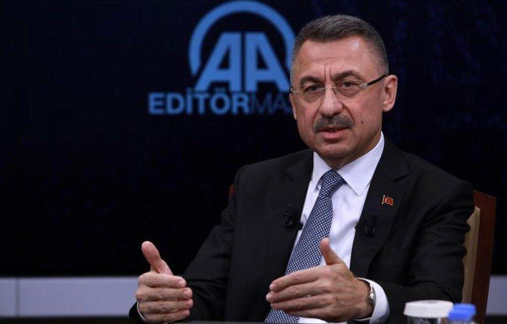 خبرنگاران معاون رییس جمهوری ترکیه ، سوریه را تهدید کرد