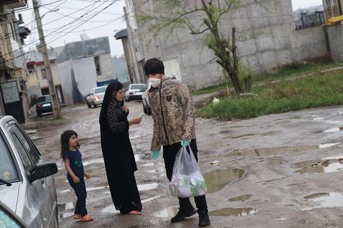 1000 بسته بهداشتی در مناطق محروم رشت توزیع شد