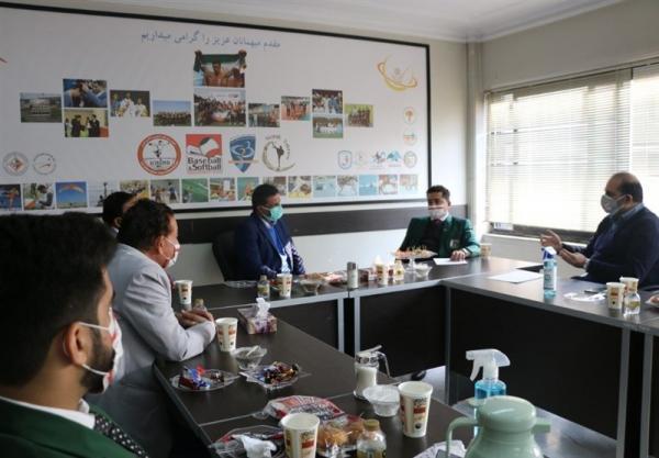 ملاقات مسئولان آسیایی بیسبال با رئیس فدراسیون انجمن های ورزشی